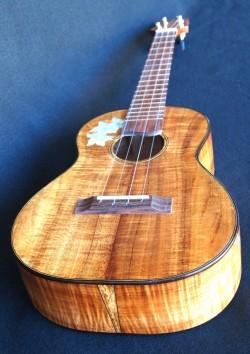 Curly koa custom tenor ukulele