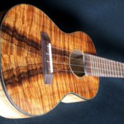 Silky, Curly Maple and Curly Koa Concert Ukulele
