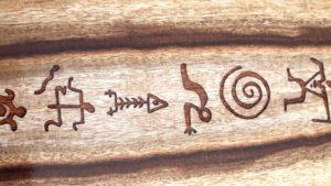 Petroglyph Inlay