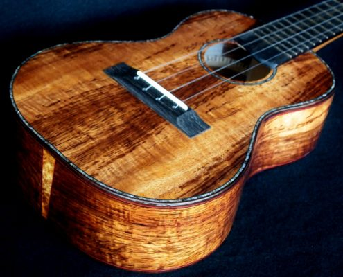 Custom Koa Concert Ukulele