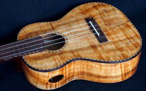 Cowboy koa tenor ukulele