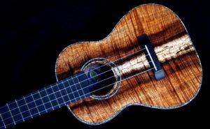 dark koa tenor ukulele