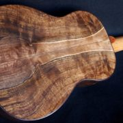 Black Walnut Koa Custom Tenor Ukulele