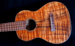 Koa and Maple Custom Tenor Ukulele