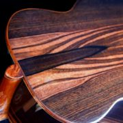 Custom Tenor Ukulele of Munn Ebony and Adirondak Spruce
