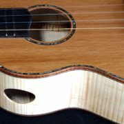 the dusky rose tenor ukulele