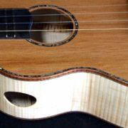 the dusky rose tenor ukulele