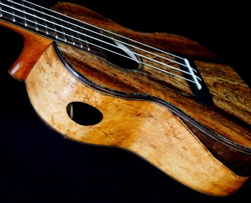 spalted mango concert ukulele
