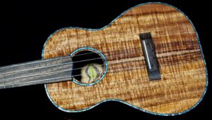 new koa tenor ukulele with new koa