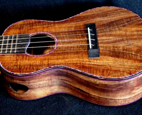 My Little Brown Gal Concert Ukulele