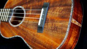 starflower inlay koa tenor ukulele