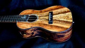 another chocolate heart mango concert ukulele