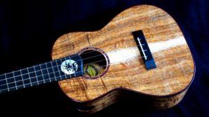 hawaiian moon koa tenor ukulele