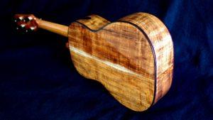 hawiian moon koa tenor ukulele
