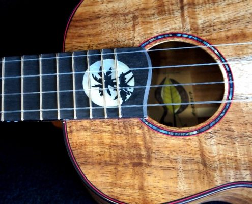 hawaiian moon koa tenor ukulele