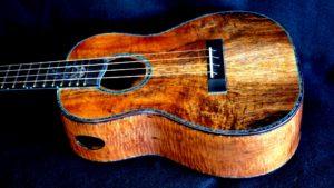 blue makau tenor ukulele