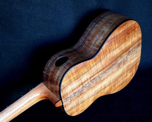 rope purfling koa tenor ukulele