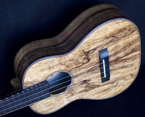 black limba tenor ukulele