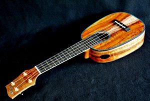 blue soprano pineapple ukulele