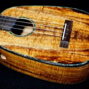 another koa tenor pineapple ukulele
