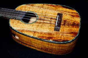 another koa tenor pineapple ukulele