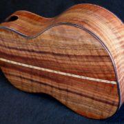 redwood walnut long neck concert ukulele