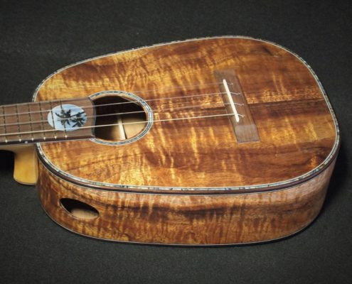 pale moon pineapple ukulele