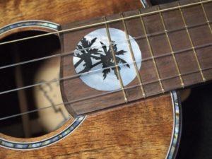 pale moon pineapple ukulele