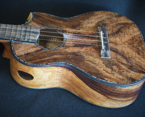 carol's honu tenor ukulele