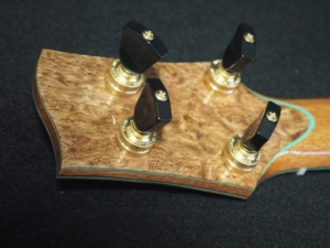 super curly koa super tenor ukulele