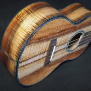 tri-color koa super tenor ukulele