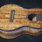 long neck koa concert ukulele