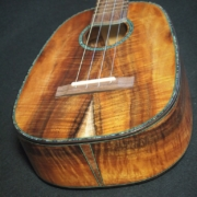 pineapple koa tenor ukulele at hale ukulele