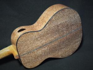 swiss moon spruce and pomelle bubinga baritone ukulele