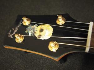 pale moon tenor pineapple ukulele