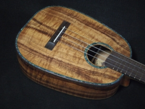 pineapple and paua tenor ukulele