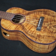 compression curl koa tenor ukulele