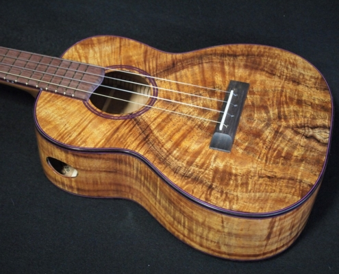 compression curl koa tenor ukulele