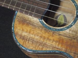 another tri-color koa super tenor ukulele