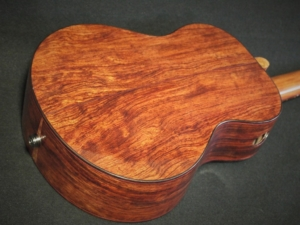 ancient spruce and bubinga super tenor ukulele