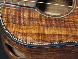 custom built by kimo ukulele san diego california made from salvage koa wood from the big island of hawaii