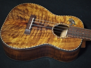 custom koa tenor ukulele