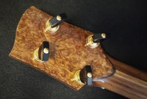 spalted koa baritone ukulele