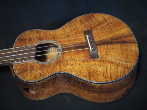 new all koa super tenor ukulele