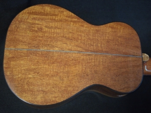 jaguar scratch mahogany guilele