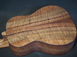 myrtle and walnut tenor ukulele