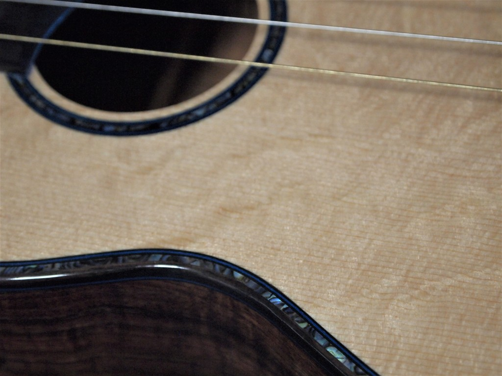 Bear Claw Spruce Soundboard