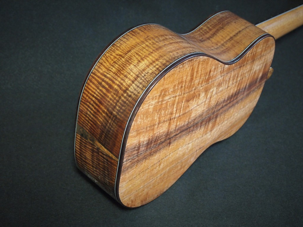 all koa concert ukulele