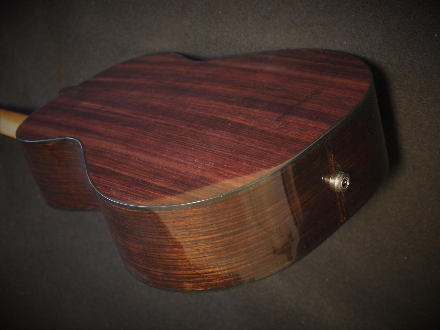 india rosewood and redwood baritone ukulele