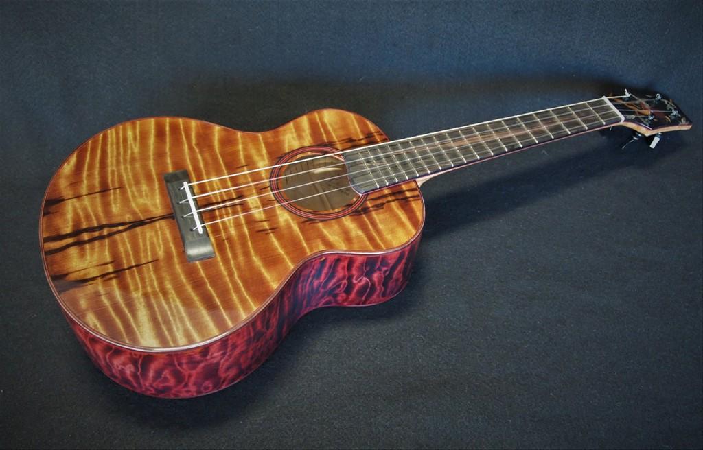 my 'I'iwi super tenor ukulele